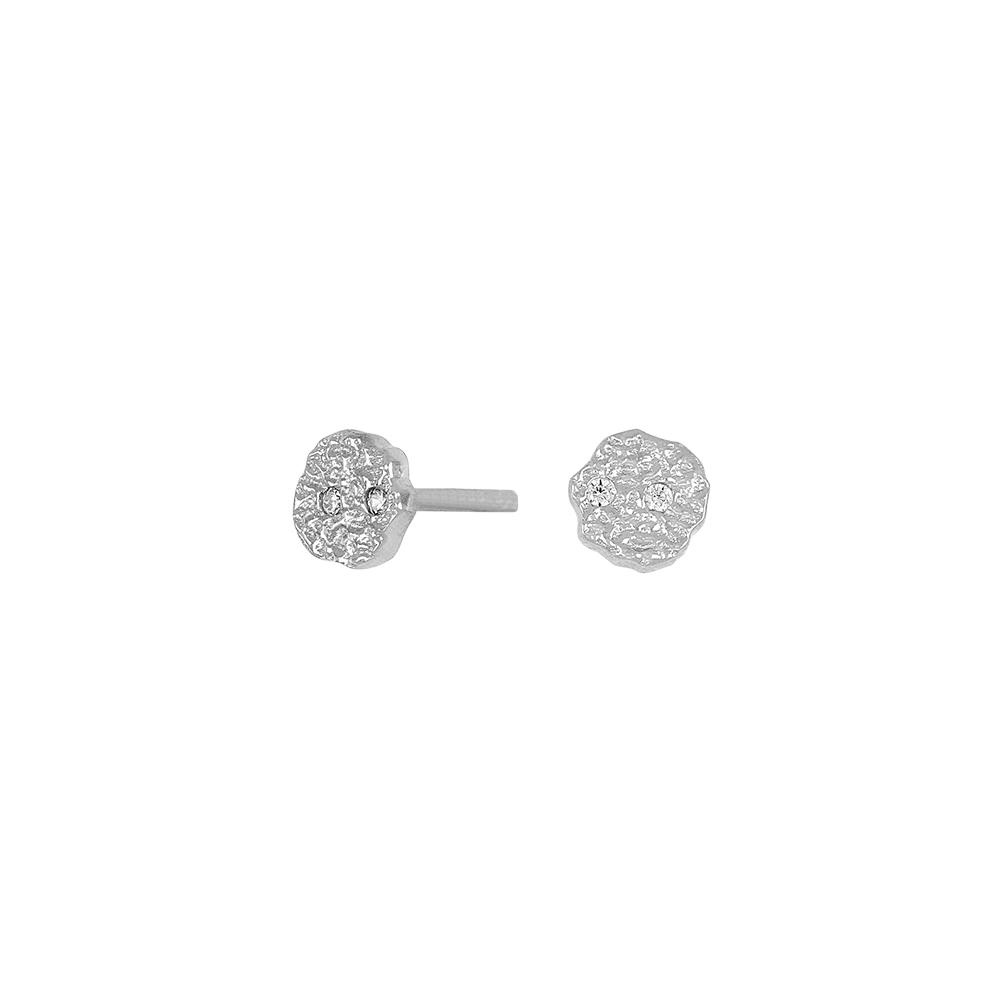Rhodineret sølv ørestikker fra Joanli Nor